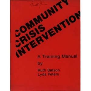Community crisis intervention