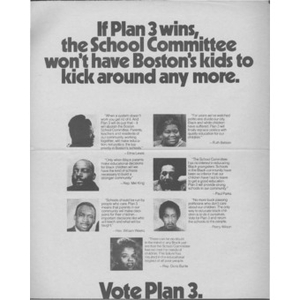 If Plan 3 wins, the school committee won't have Boston's kids to kick around any more.