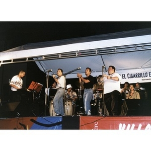 Band performing at the 1999 Festival Betances.