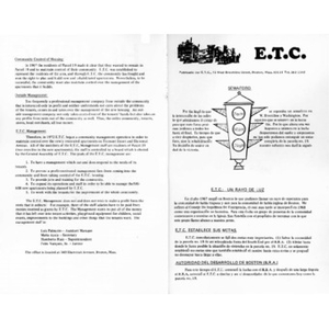 ETC newsletters.