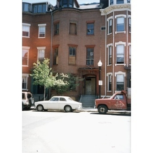 326 Shawmut Avenue prior to its renovation into affordable housing units known as Residencia Betances.