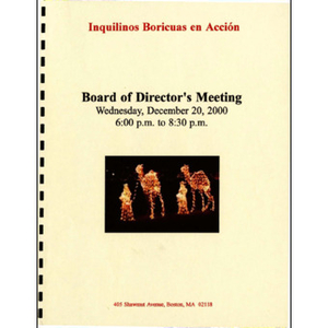 Board of Director's meeting.