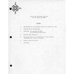 Board of Directors minutes and reports.