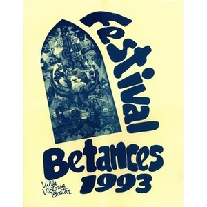 Poster announcing Villa Victoria Center for the Arts 1993 annual Festival Betances.