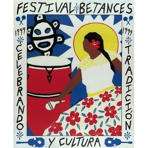 Poster promoting Villa Victoria's 25th annual Festival Betances.