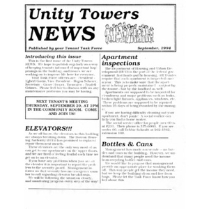 Unity Tower news.