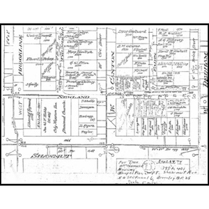 Map of Parcel 19 rehabilitation II properties.