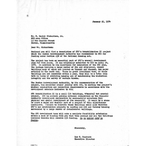 Letter to M. Daniel Richardson from Luz E. Cuadrado.
