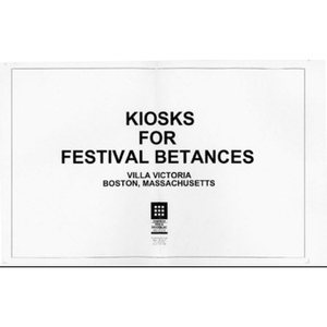 Kiosks for Festival Betances