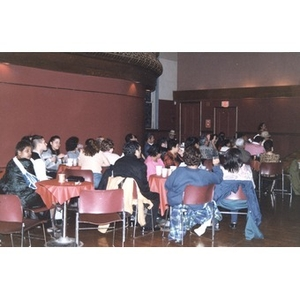 Audience at the Jorge Hernandez Cultural Center during an evening of musical performances.