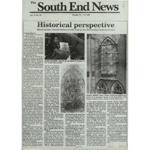 Broadsheet of South End News.