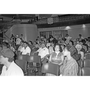 Audience at the Jorge Hernandez Cultural Center.