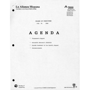 Meeting materials for July 1994.