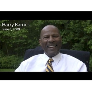 An Interview with Harry Barnes, June 8, 2009 [video recording]