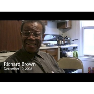 An Interview with Richard G. Brown, December 10, 2008 [video recording]