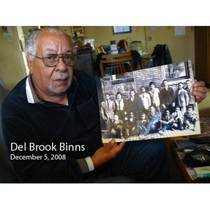 An Interview with Del Brook Binns, December 5, 2008 [sound recording]