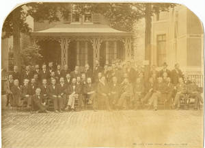 YMCA Secretaries Conference, Buffalo, 1878