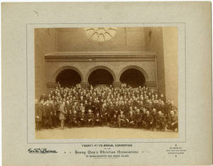 YMCA Annual Convention, 1890