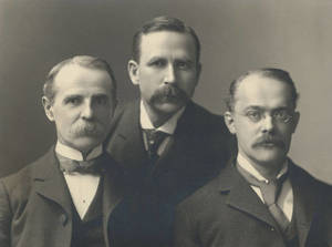 F. R. Wardle, Fred S. Goodman, and Glen K. Shurtleff, Physical Directors of the Cleveland YMCA
