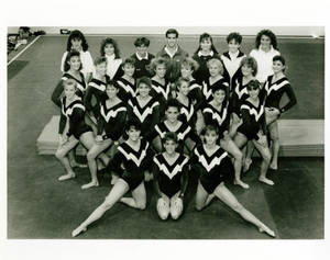 Women's Gymnastics Team (1989-1990)