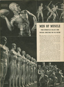 "Life Magazine, ""Men of Muscle"""