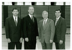 Coaches of the men's basketball team (1995-1996)