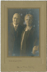Dr. and Mrs. Seerley portrait, 1920-1933?