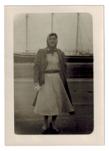 Alison Laing at a Harbor