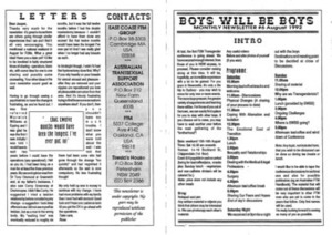 Boys Will Be Boys, No.6 (August, 1992)