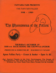 Fantasia Fair Presents: The Fan-Fair Follies for 1989