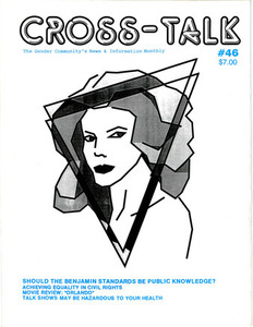 Cross-Talk: The Gender Community's News & Information Monthly, No. 46 (August, 1993)