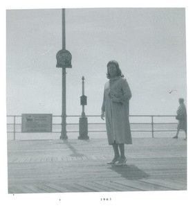 Alison Laing on Pier