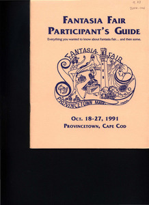 Fantasia Fair Participant's Guide (Oct. 18 - 27, 1991)