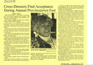 Cross-Dressers Find Acceptance During Annual Provincetown Fest