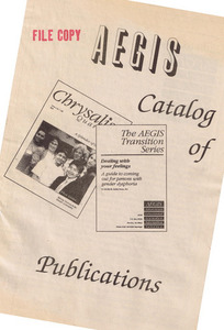 AEGIS Catalog of Publications