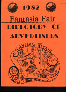 Fantasia Fair Directory of Advertisers (1982)