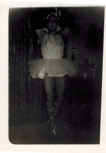 Alison Laing Poses as Ballerina