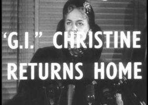 """G.I."" Christine Returns Home"