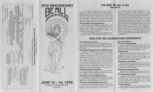 10th Annual Be All Weekend (Jun. 10-14, 1992)