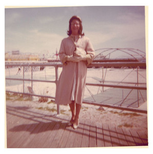 Alison Laing on Boardwalk