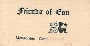 Friends of Eon Membership Card