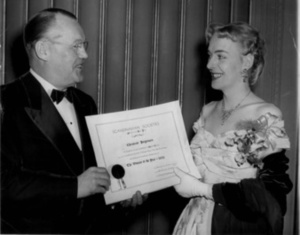 Christine Jorgensen Receives Woman of the Year Award