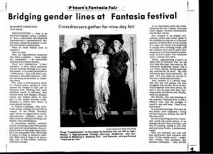 Bridging Gender Lines at Fantasia Fair (October 28, 1985)