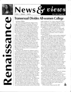 Renaissance News & Views, Vol. 11 No. 8 (August 1997)