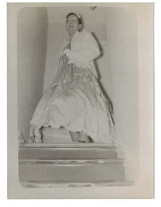 Alison Laing in Gown
