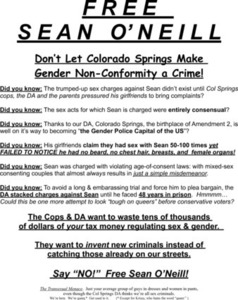Free Sean O'Neill Flyer