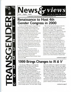 Transgender Community News & Views, Vol. 12 No. 10 (October 1988)