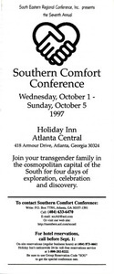 Seventh Annual Southern Comfort Conference (Oct. 1-5, 1997)