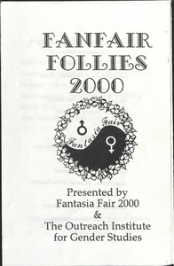 Fanfair Follies 2000 Program