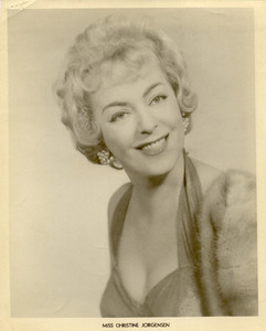 Miss Christine Jorgensen
